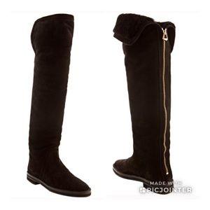 Jimmy Choo Shearling-lined OTK Boots